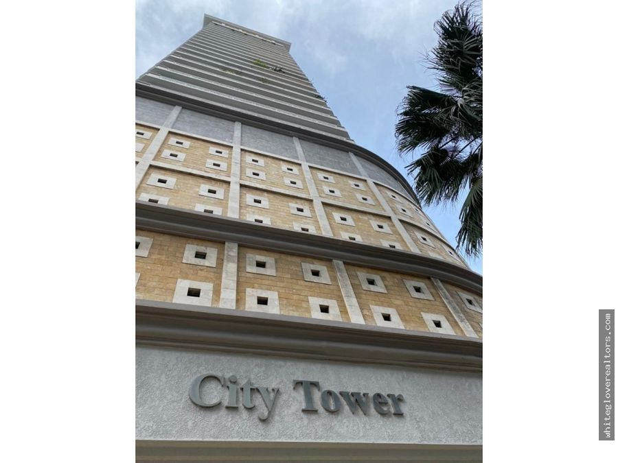 vendo hermoso apartamento en city tower