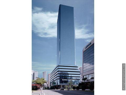 vendo espectacular oficina en plaza banco general