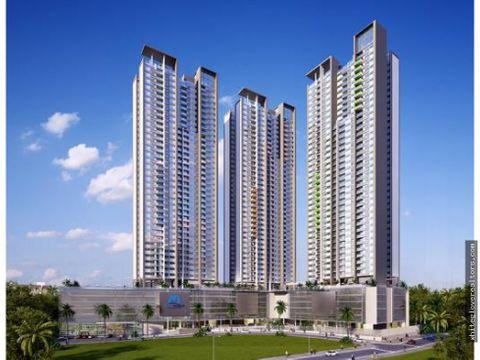vendo hermoso apartamento en sky point tower