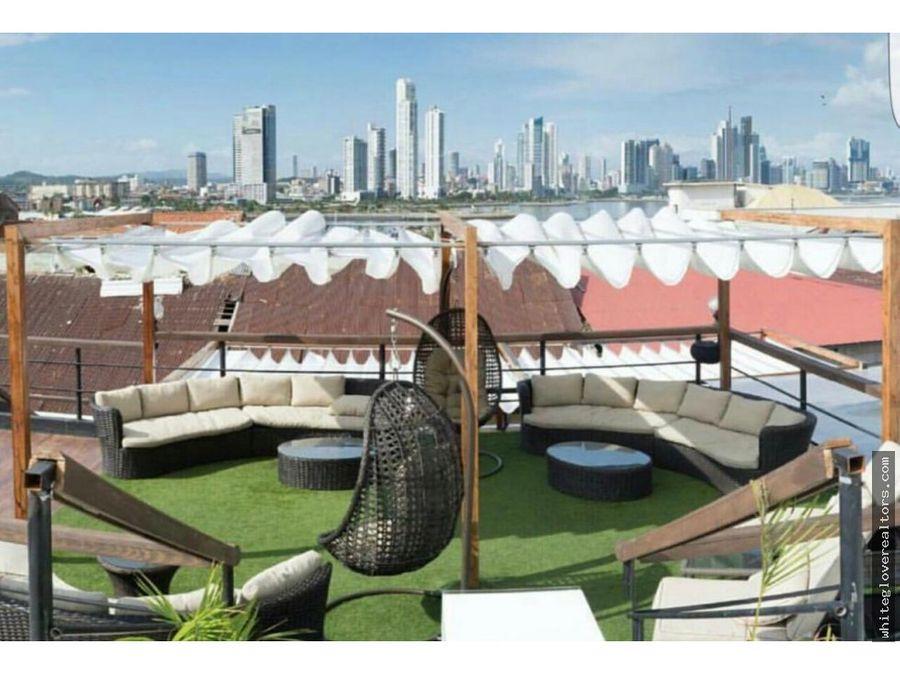 rooftop en casco viejo