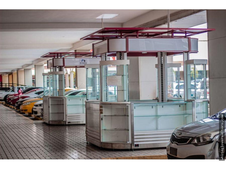 alquilo kioscos en plaza comercial las americas