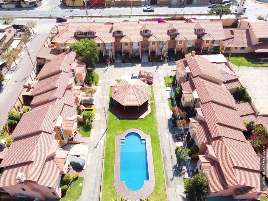 hermosa casa en condominio circunvalacion oeste parque bicentenario