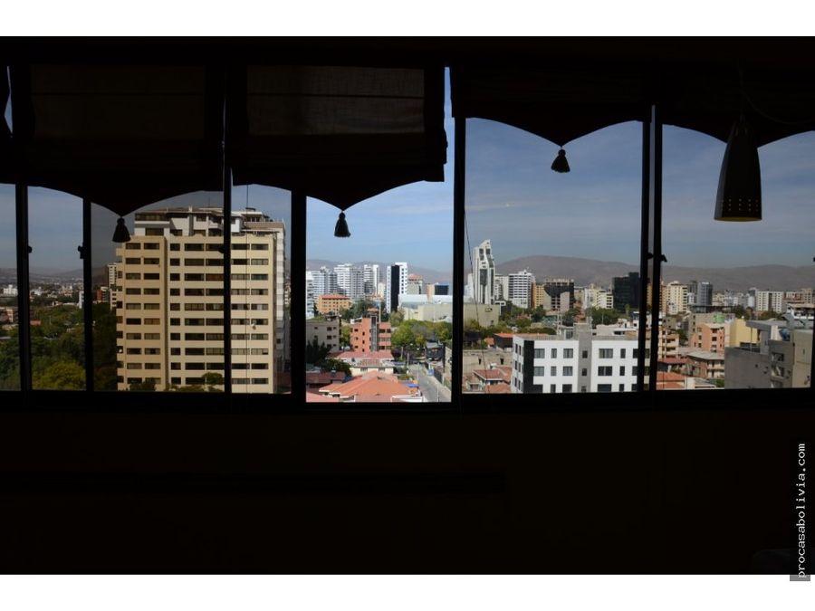 departamento en la mejor zona de cochabamba