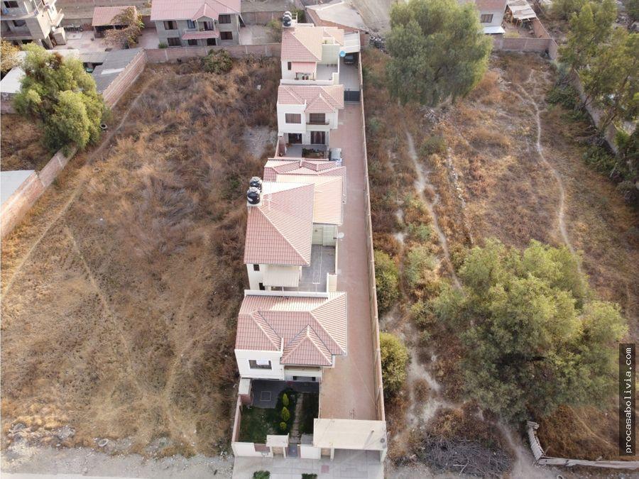 amplia casa en condominio cerca plaza colcapiruhua