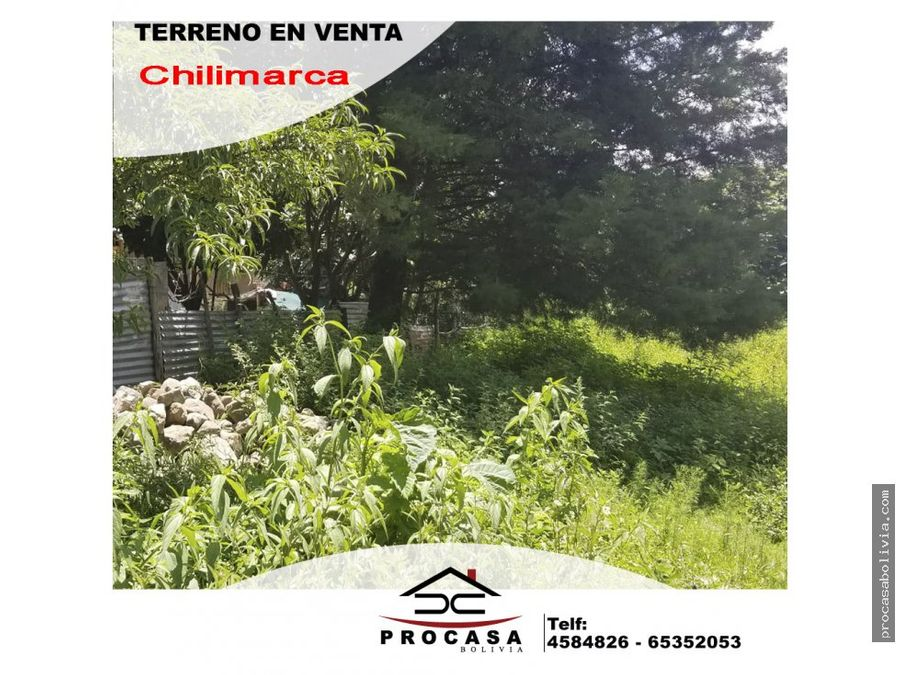 65000 lote chillimarca caracol 345 m2