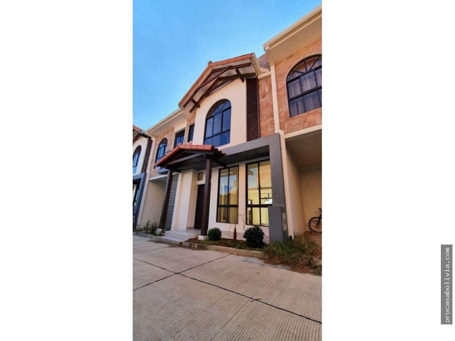 casa de lujo en condominio melchor perez y circunvalacion
