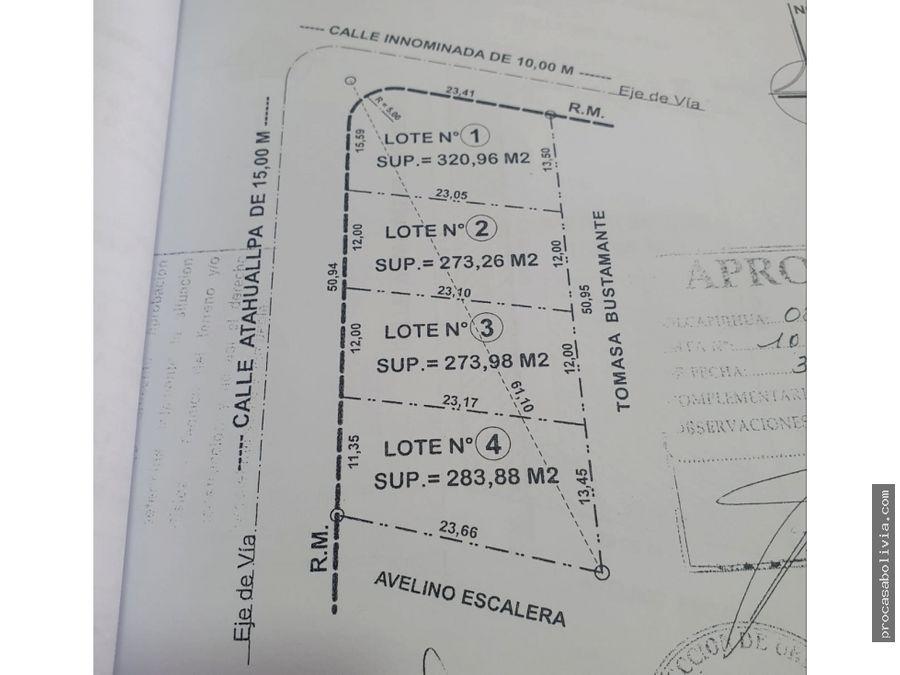 lotes en venta final villavicencio oeste zona sirpita