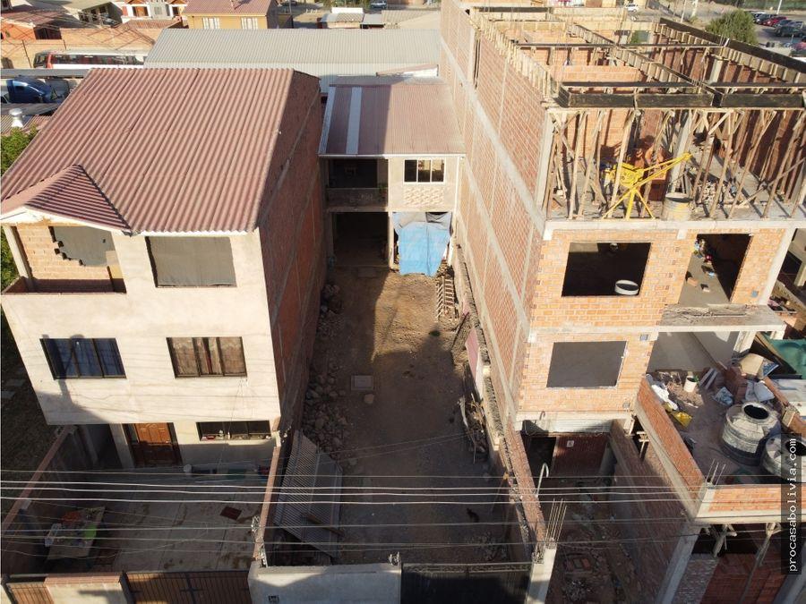 casa en construccion cerca a la avbeijing y avcapitan ustariz