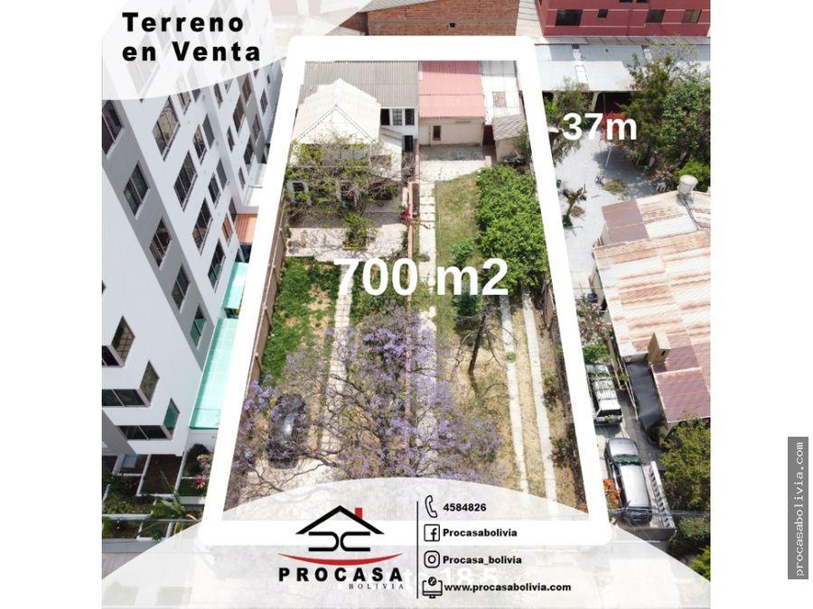 terreno en venta inmediaciones av melchor perez y america