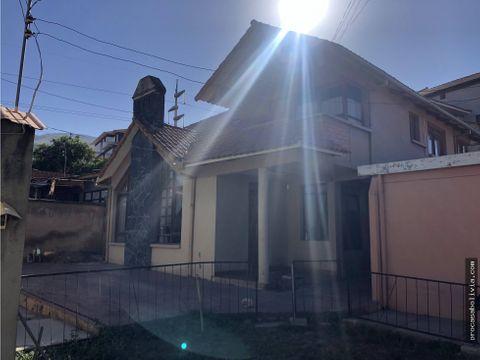 casa como lote sobre avenida inmediaciones avmelchor urquidi