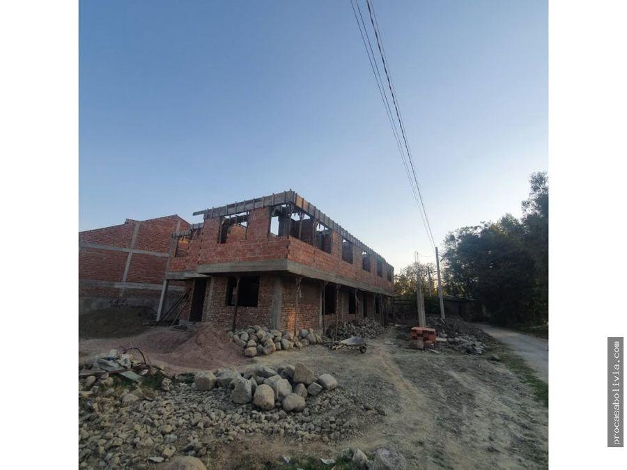 bonitas casas en preventa tiquipaya