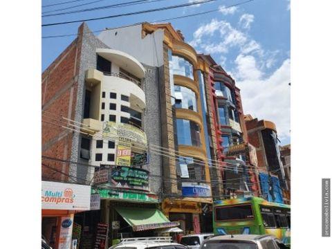 local comercial plaza bolivar quillacollo