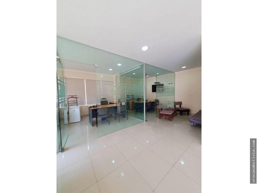 hermosa oficina inmediaciones beijing y juan de la rosa