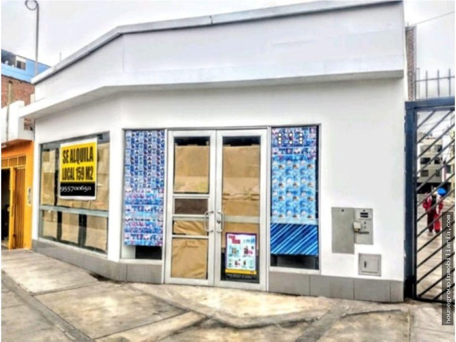 alquilo local comercial en santiago de surco