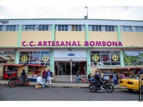se vende local bombona