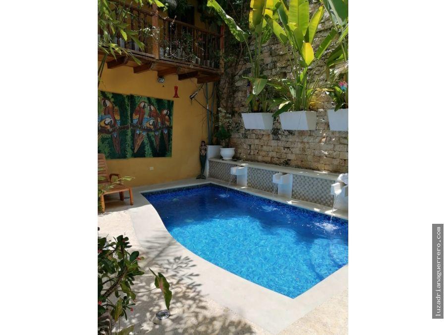 venta de hotel boutique en cartagena colombia