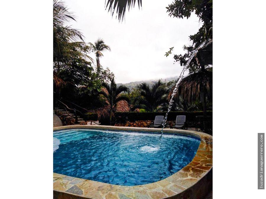 se vende ecohotel entrada al parque tayrona santa marta colombia