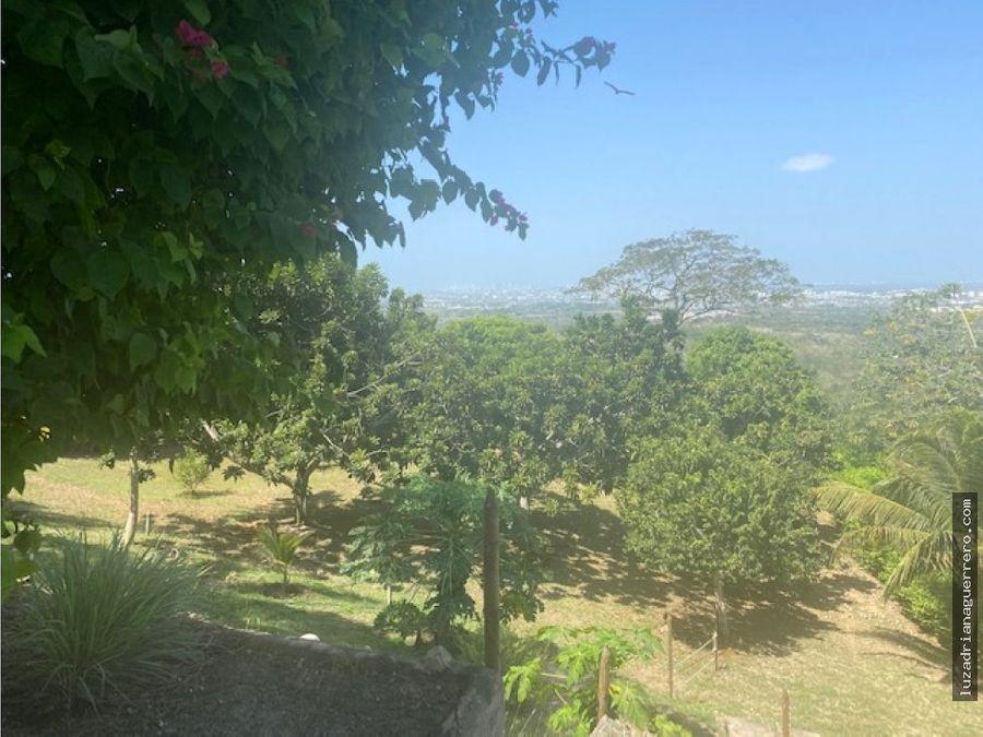 se vende lotes en turbaco cartagena de indias colombia