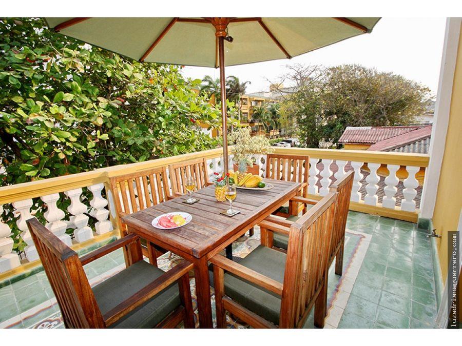 venta de hotel en el barrio cabrero de cartagena colombia