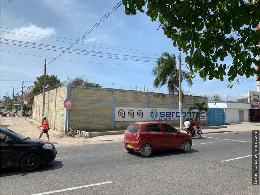 venta alquiler lote con oficina bodega cartagena de indias colombia