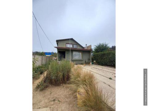 se vende casa en placilla nuevo con terreno 500 m2