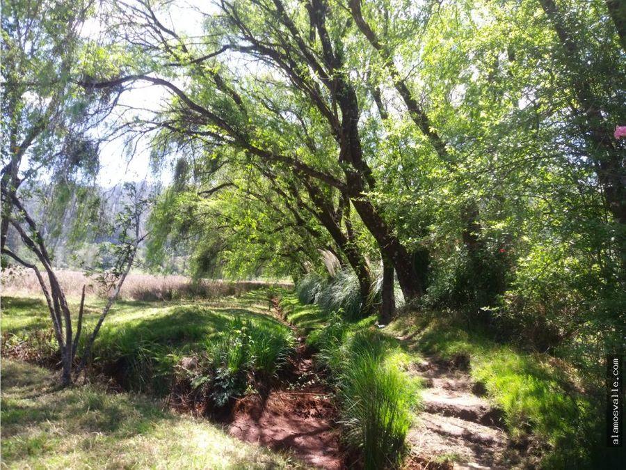 terreno amanalco pozas