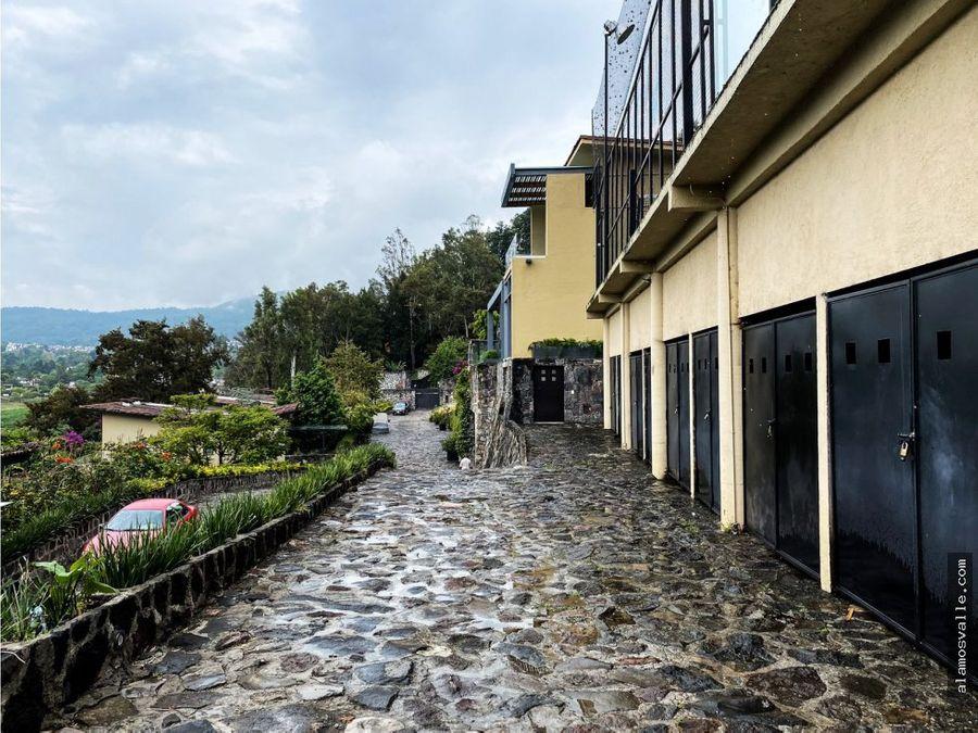 casa en venta la pena valle de bravo con acceso al lago