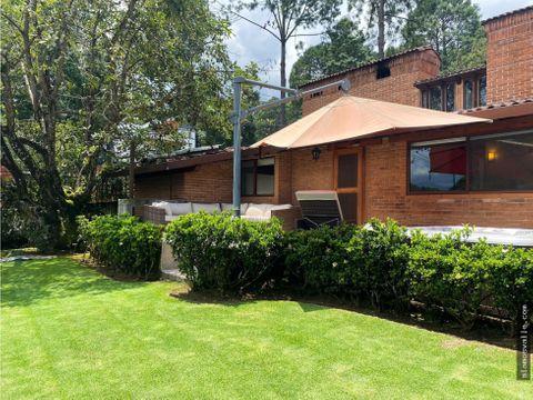 casa en venta en condominio avandaro valle de bravo