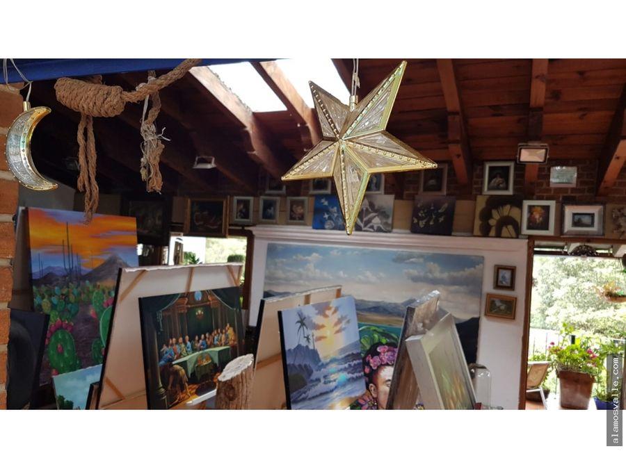 casa galeria en venta avandaro