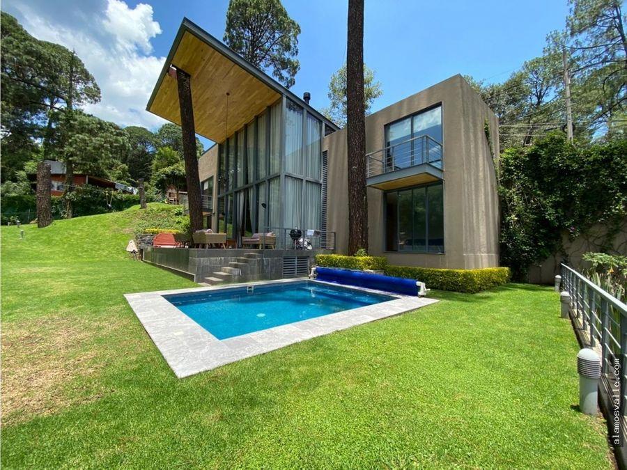 casa a doble altura avandaro