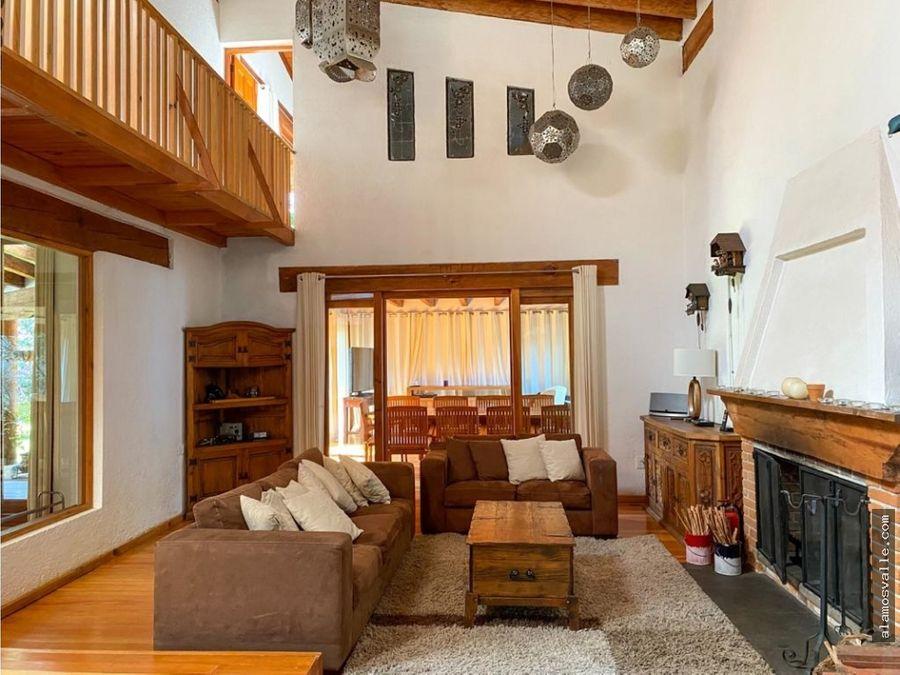 casa en venta con departamentos en avandaro valle de bravo