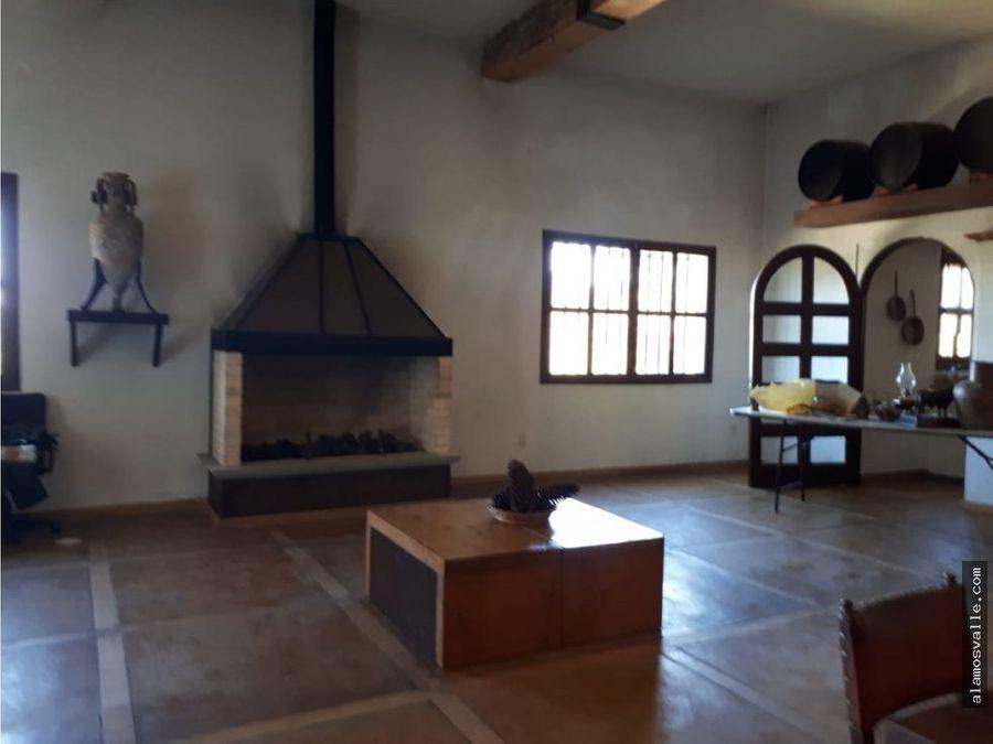 casa de campo cerca de santa fe