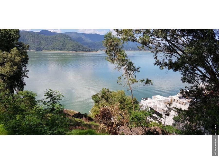 terreno con vista al lago la costera
