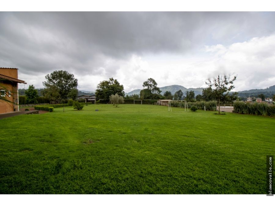rancho en venta valle de bravo