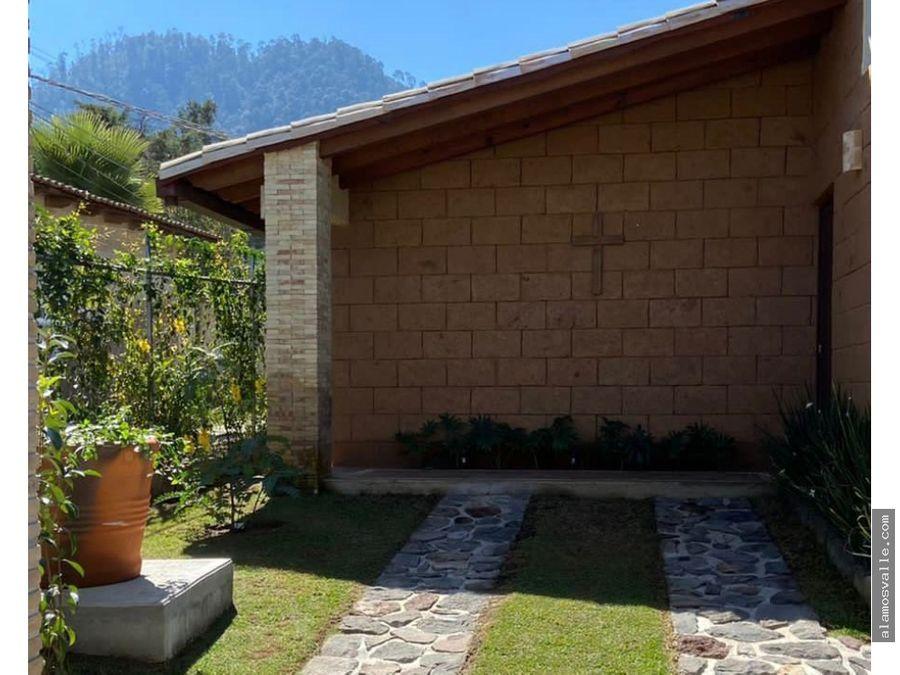 casa de campo en renta cerro gordo valle de bravo