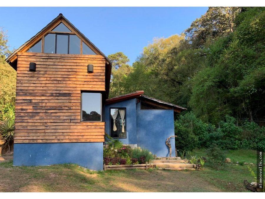cabana en renta los alamos