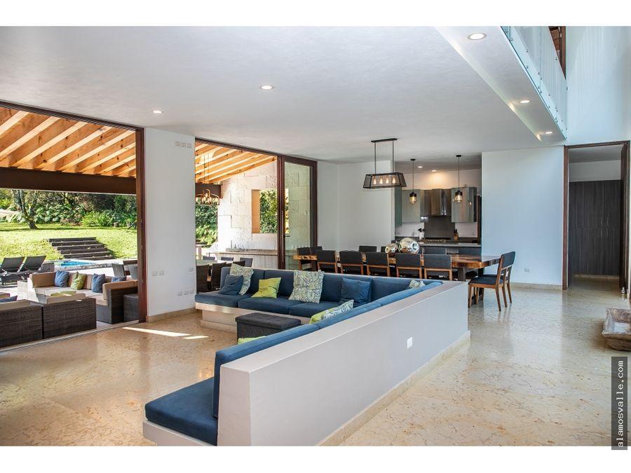 casa en venta en valle santana valle de bravo
