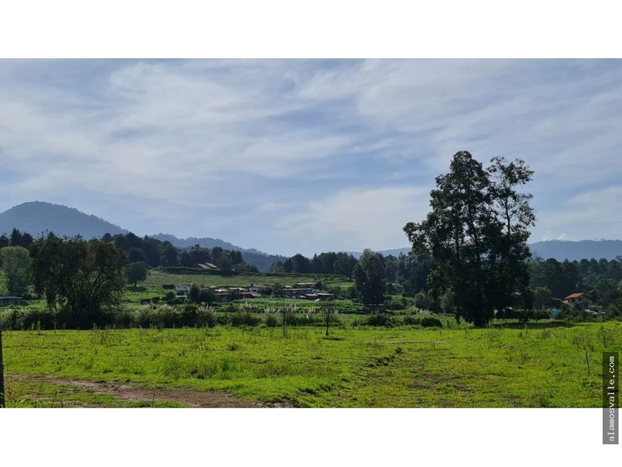 terreno con vistas en san simon