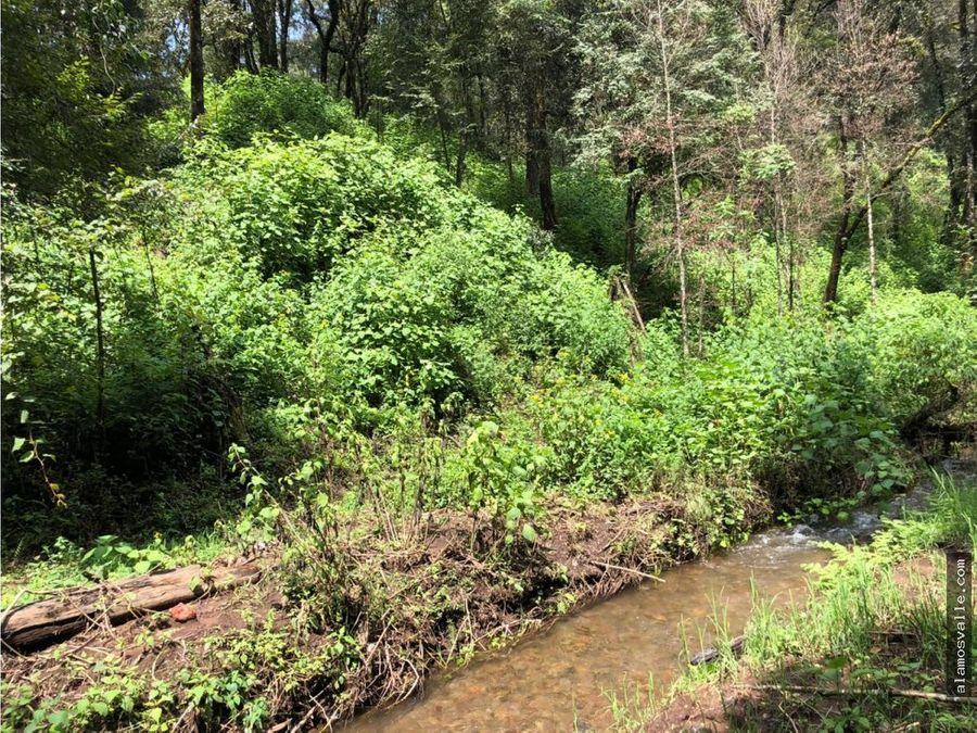 terreno san simon con rio