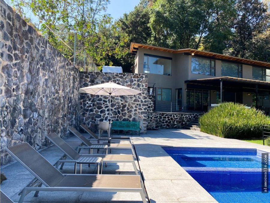 casa en venta en avandaro valle de bravo