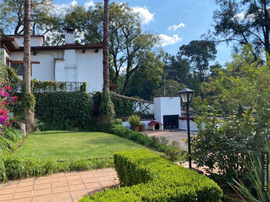 casa venta dentro del club de golf avandaro