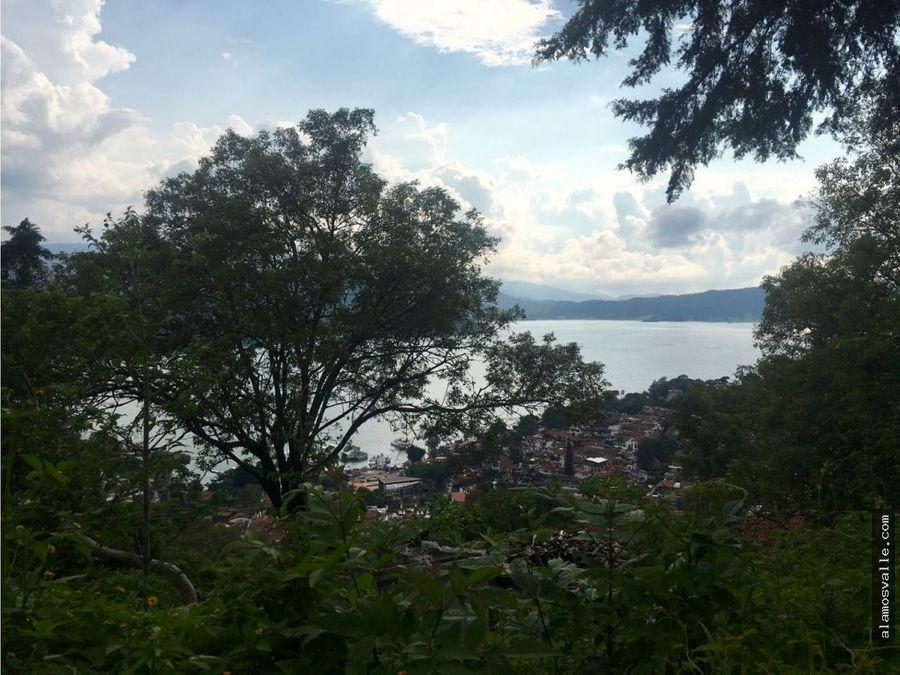 terreno vista al lago