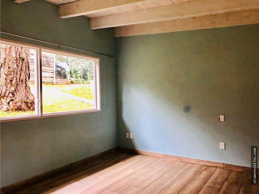casa en venta a unos minutos de avandaro