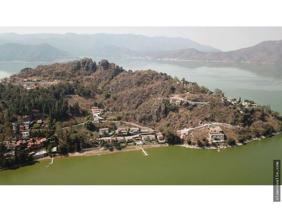 terreno vista al lago la pena