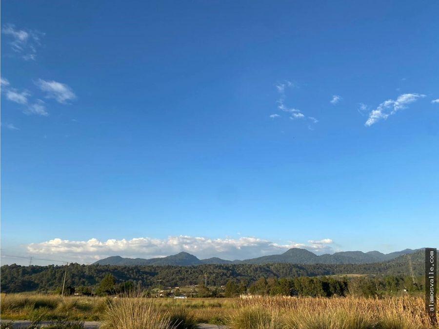 terreno valle santana