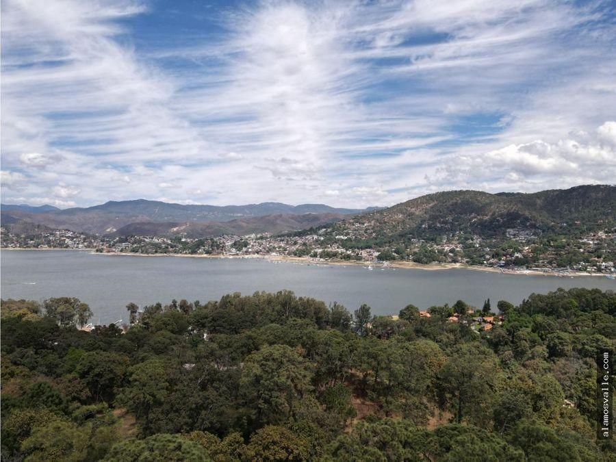 terreno en venta en avandaro vista al lago comunal
