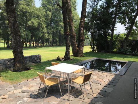 casa en renta al campo de golf