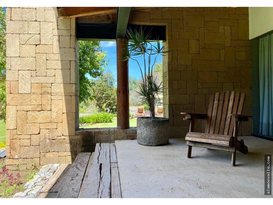 residencia campestre en rancho avandaro