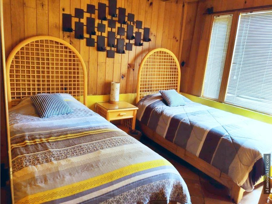 cabana en venta ruta del bosque