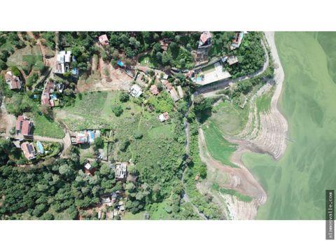 terreno en venta con vista al lago en san gaspar